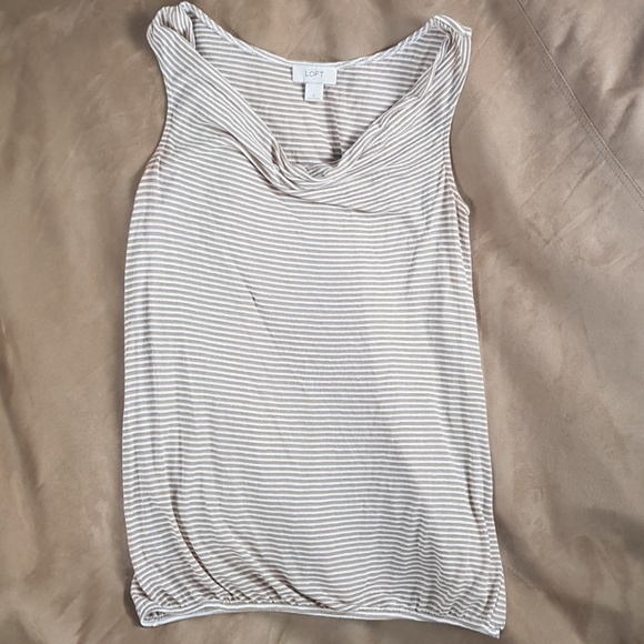 White and Gold Tank Tops